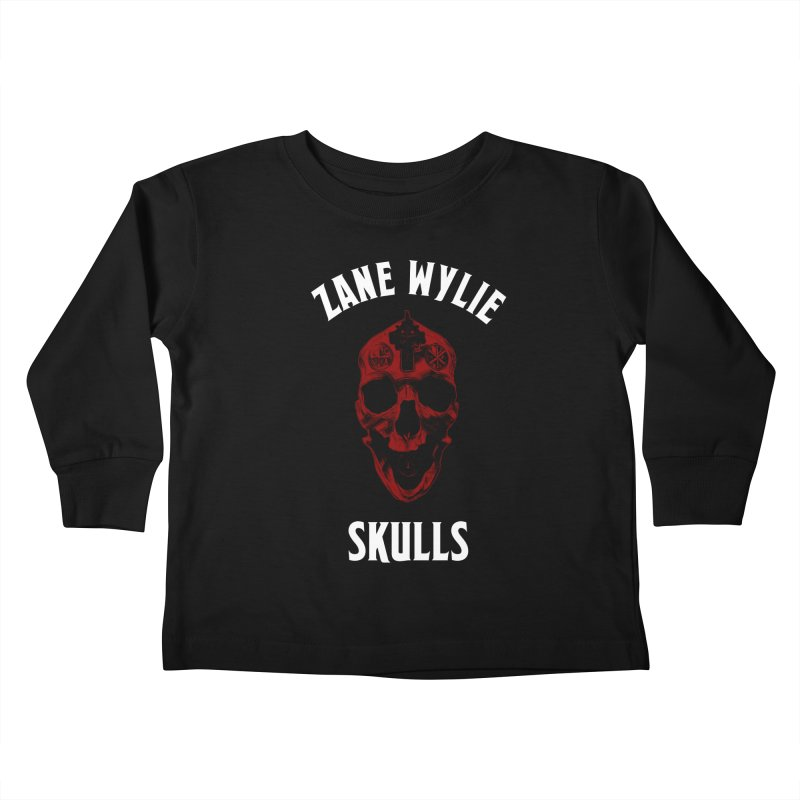 Red Chaplain Banner Kids Toddler Longsleeve T-Shirt by skullprops's Artist Shop
