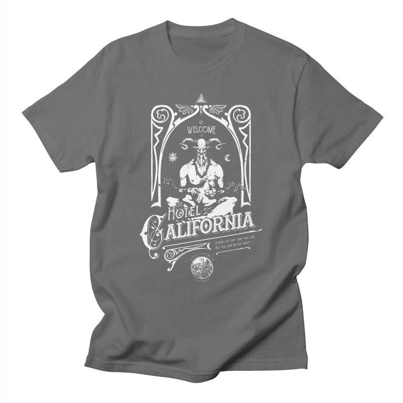 Hotel California Men's T-Shirt by Skulls Society