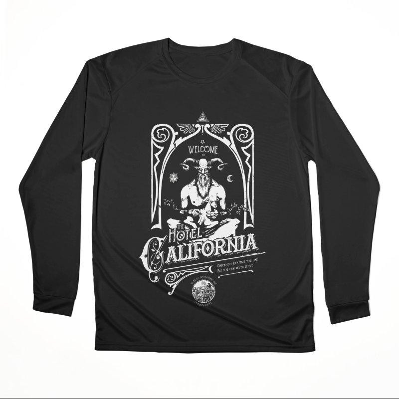Hotel California Women's Performance Unisex Longsleeve T-Shirt by Skulls Society