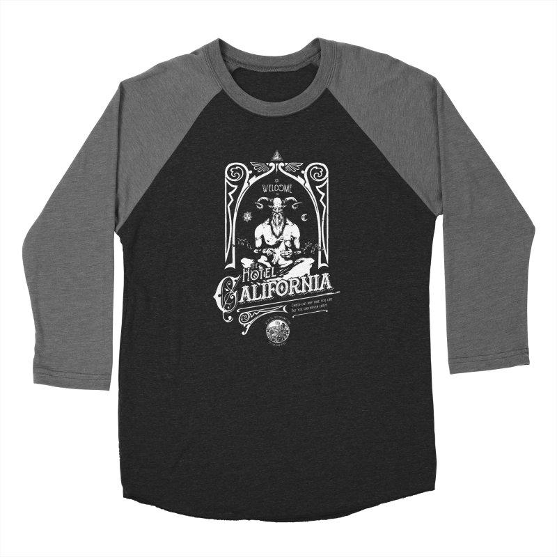 Hotel California Women's Baseball Triblend Longsleeve T-Shirt by Skulls Society