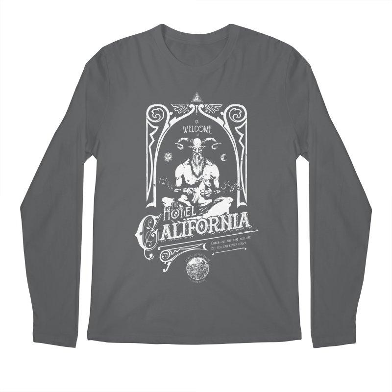 Hotel California Men's Longsleeve T-Shirt by Skulls Society