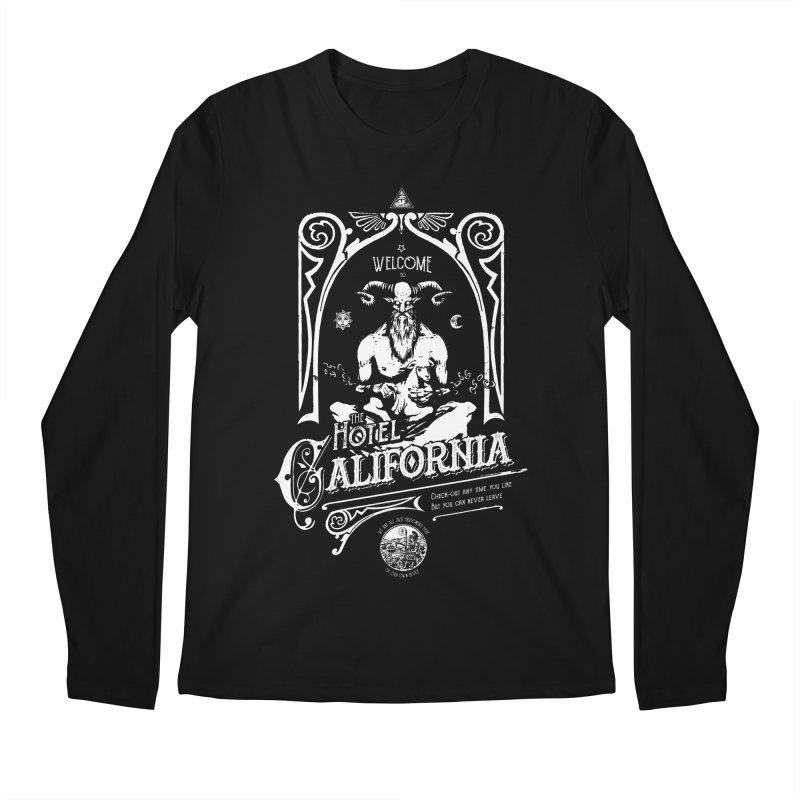 Hotel California Men's Regular Longsleeve T-Shirt by Skulls Society