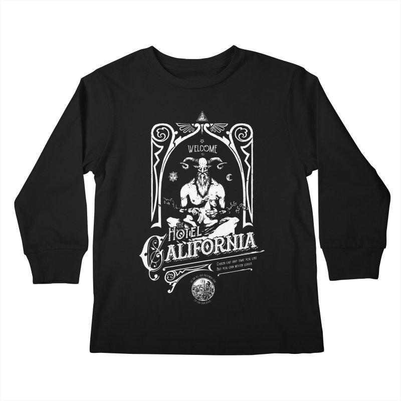 Hotel California Kids Longsleeve T-Shirt by Skulls Society