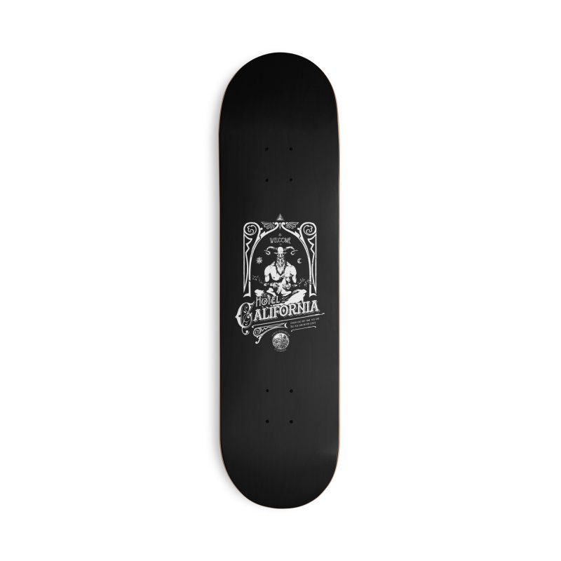 Hotel California Accessories Deck Only Skateboard by Skulls Society
