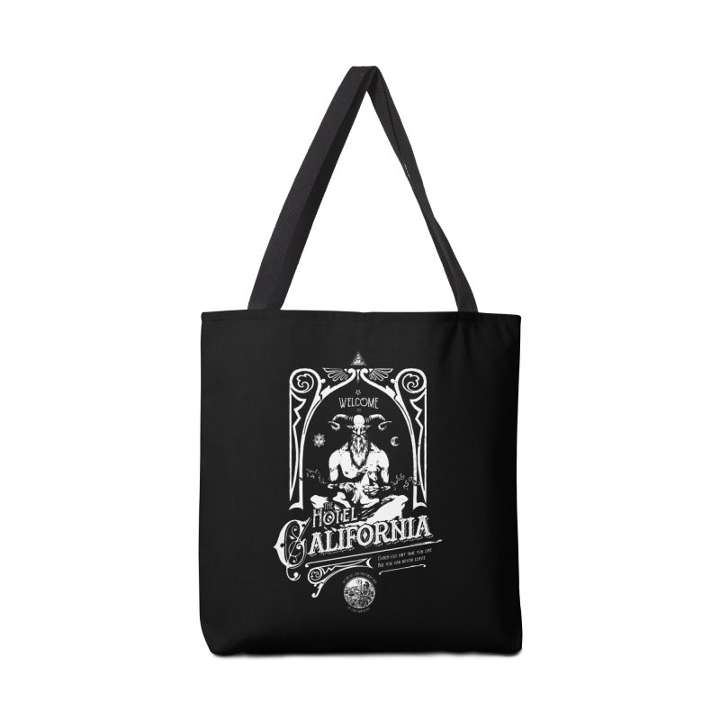 Hotel California Accessories Bag by Skulls Society