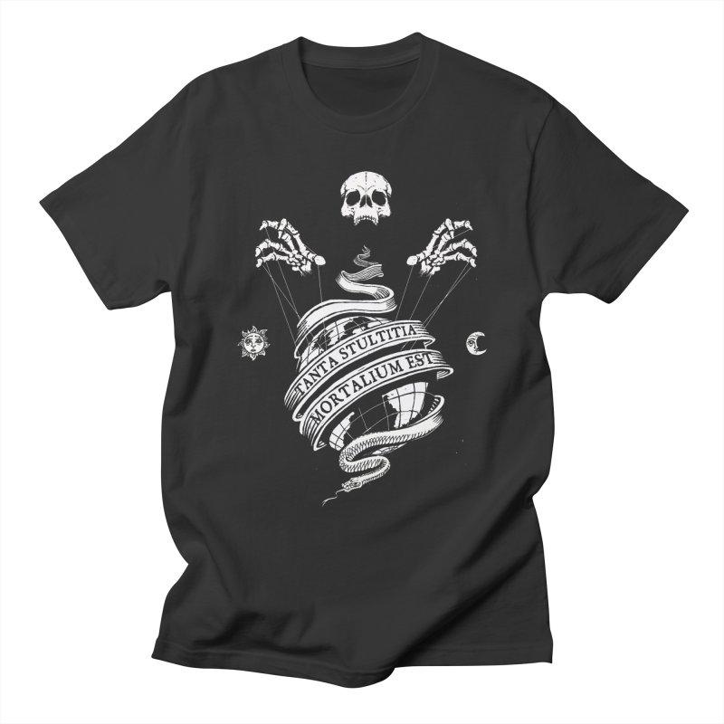 Foolishness of Mortals Men's T-Shirt by Skulls Society