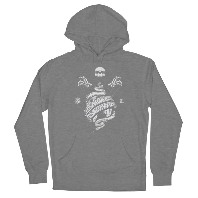 Foolishness of Mortals Women's Pullover Hoody by Skulls Society