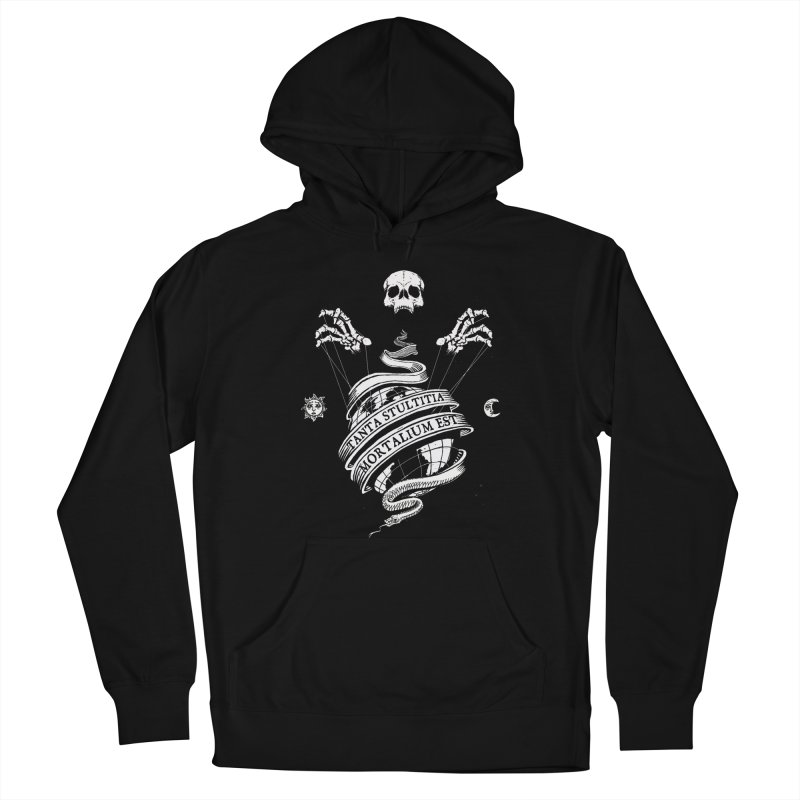 Foolishness of Mortals Men's French Terry Pullover Hoody by Skulls Society