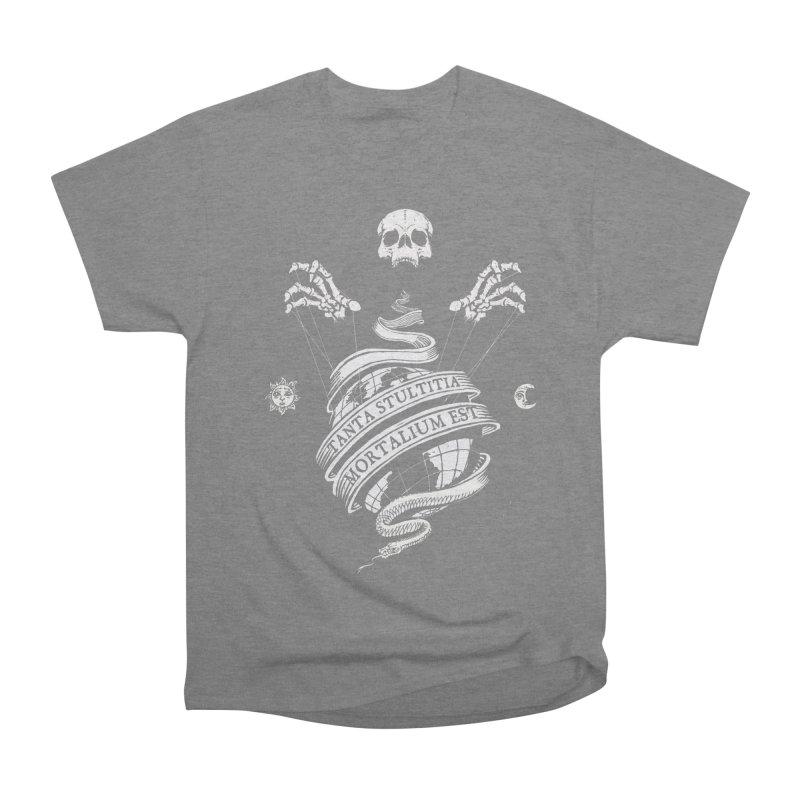 Foolishness of Mortals Men's Heavyweight T-Shirt by Skulls Society