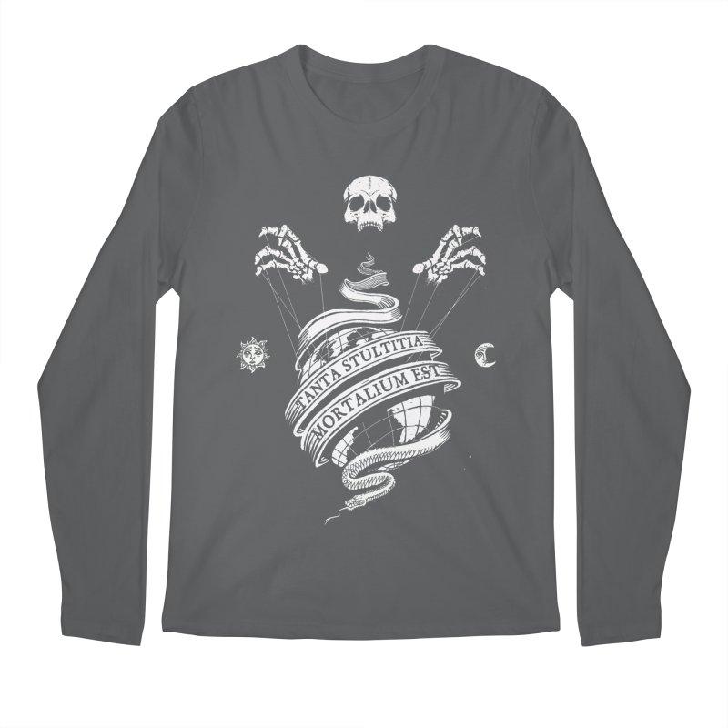 Foolishness of Mortals Men's Regular Longsleeve T-Shirt by Skulls Society