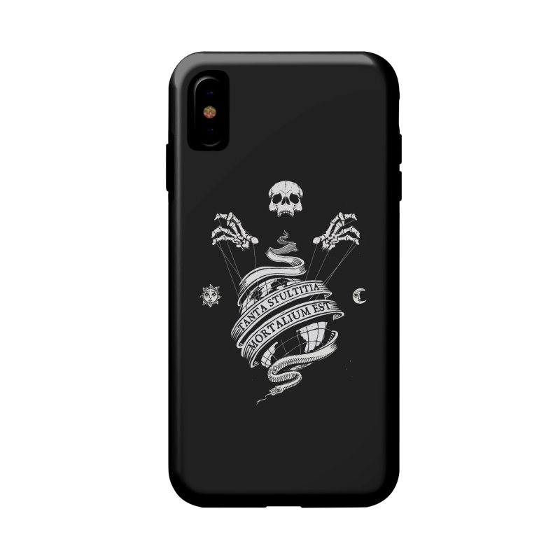 Foolishness of Mortals Accessories Phone Case by Skulls Society