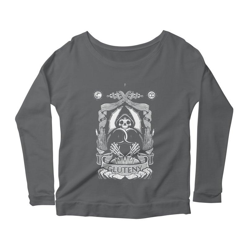Gluteny Women's Longsleeve T-Shirt by Skulls Society