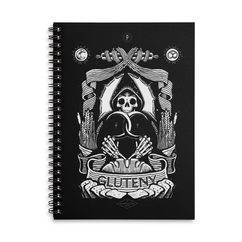 Gluteny Accessories Notebook by Skulls Society