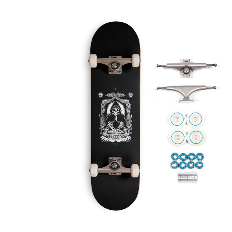 Gluteny Accessories Complete - Basic Skateboard by Skulls Society