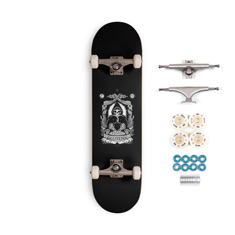 Gluteny Accessories Complete - Premium Skateboard by Skulls Society