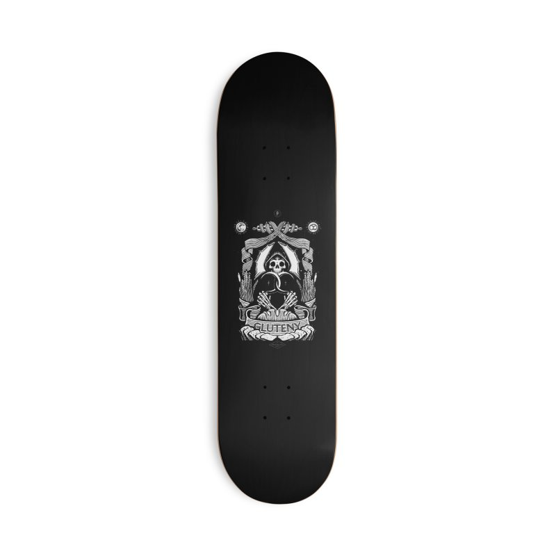 Gluteny Accessories Deck Only Skateboard by Skulls Society