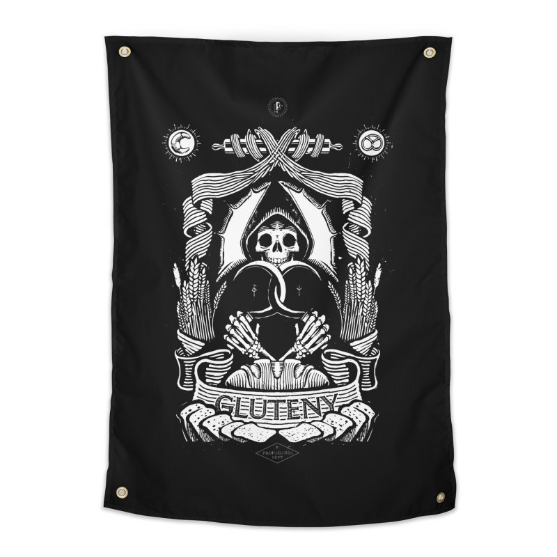 Gluteny Home Tapestry by Skulls Society