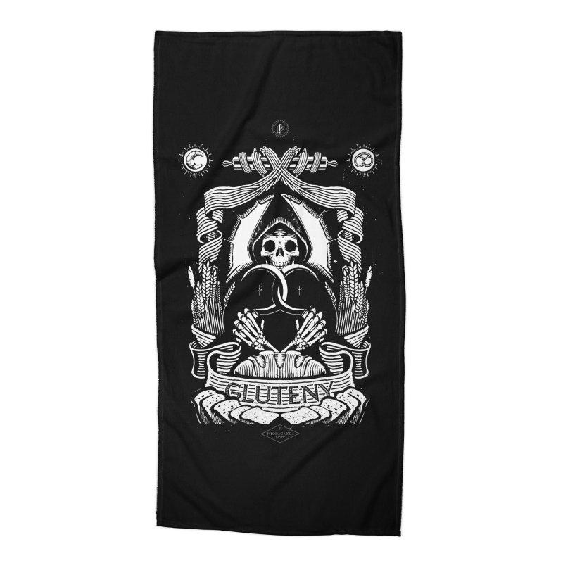 Gluteny Accessories Beach Towel by Skulls Society
