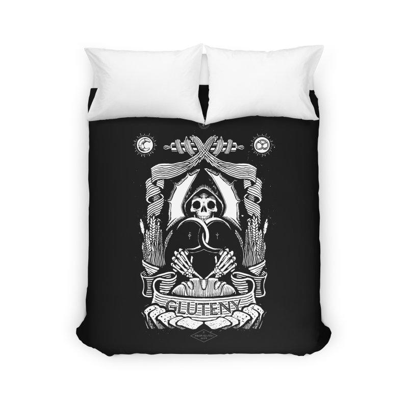 Gluteny Home Duvet by Skulls Society