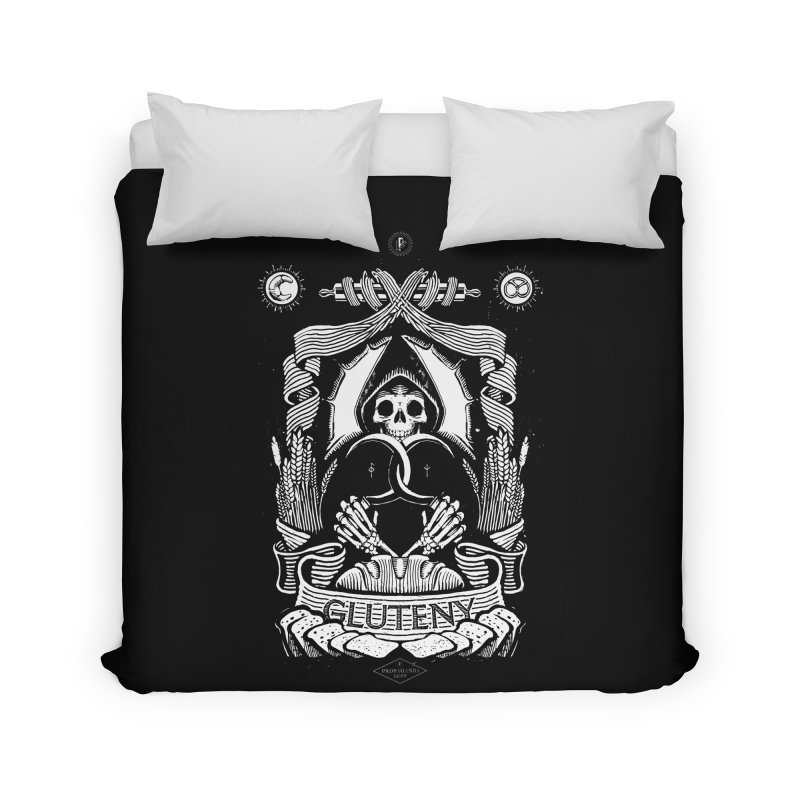 Gluteny Home Duvet by Skulls Society