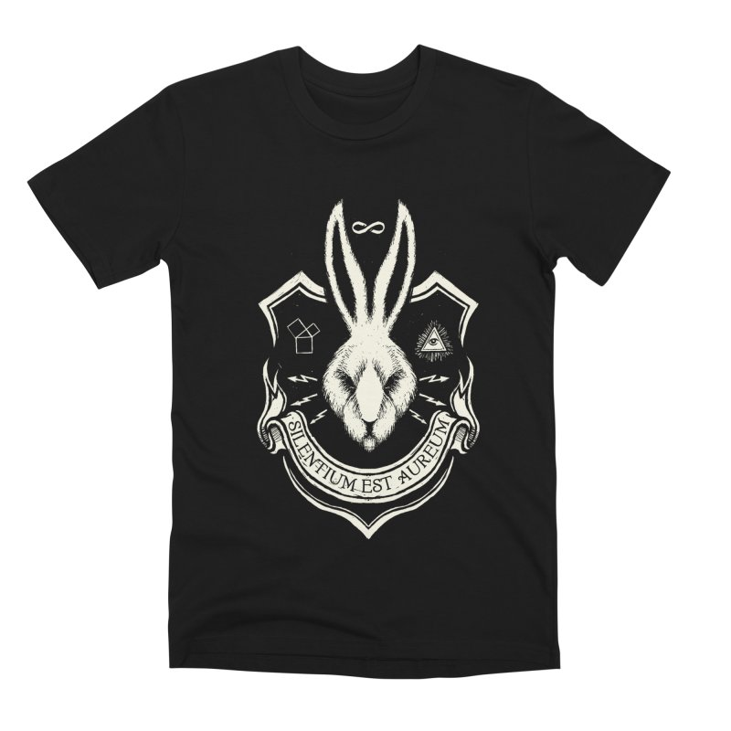 Silence is Golden Men's Premium T-Shirt by Skulls Society
