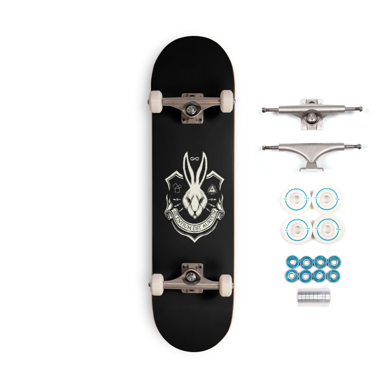 Silence is Golden Accessories Skateboard by Skulls Society