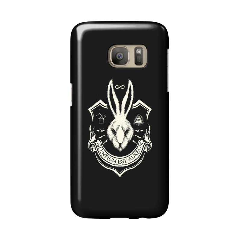Silence is Golden Accessories Phone Case by Skulls Society