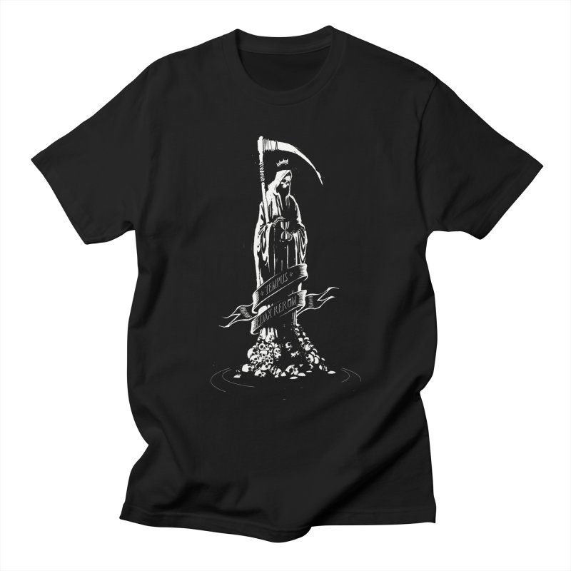 TEMPUS EDAX RERUM Women's T-Shirt by Skulls Society