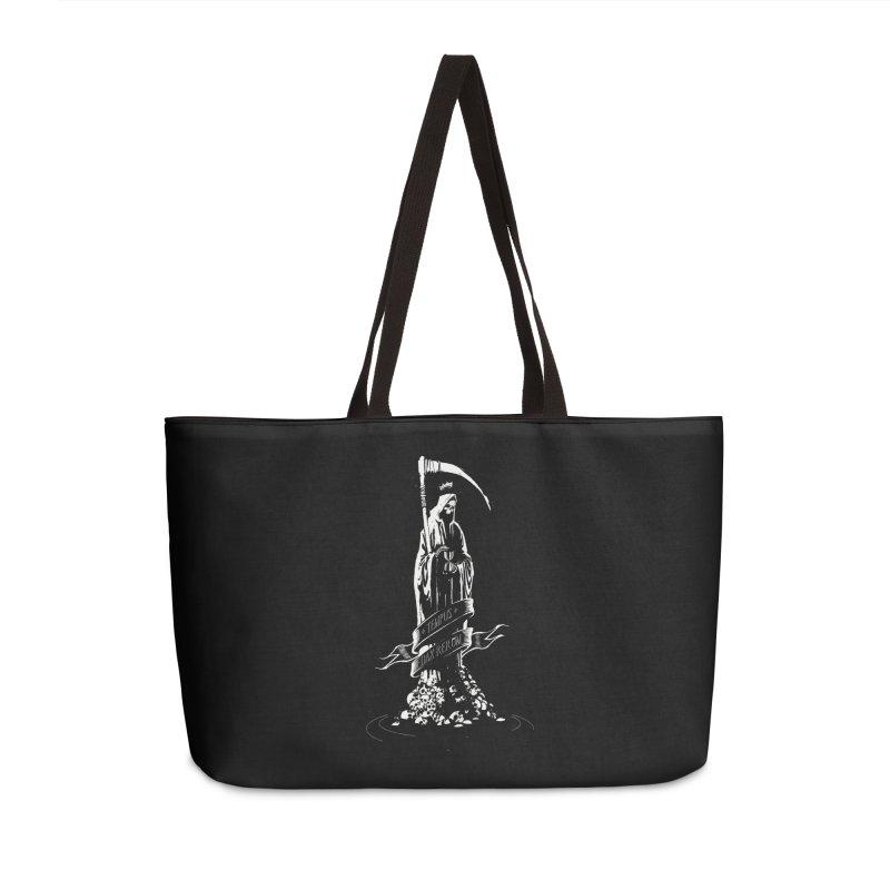 TEMPUS EDAX RERUM Accessories Bag by Skulls Society