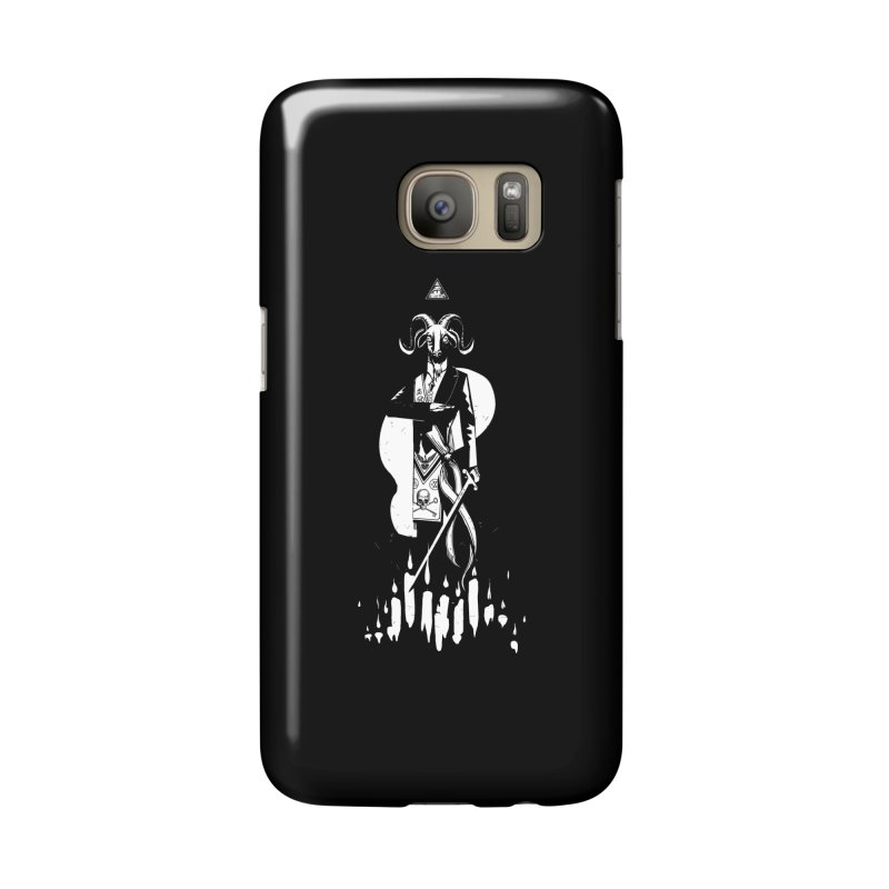 Archgoat Summoning Accessories Phone Case by Skulls Society