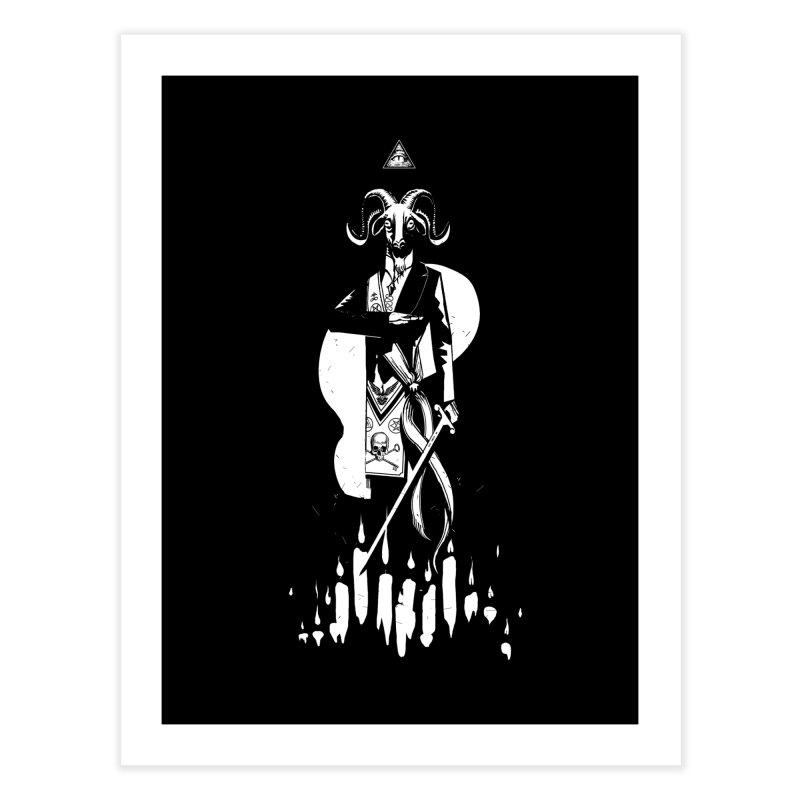 Archgoat Summoning Home Fine Art Print by Skulls Society