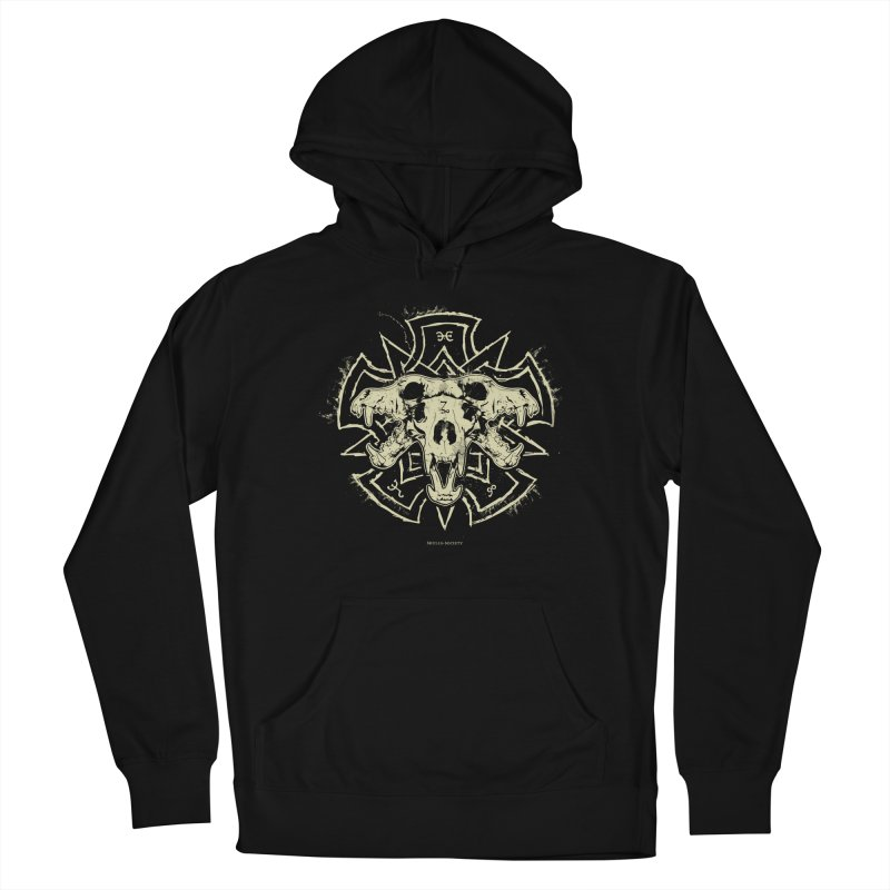Hellhound of Hades Women's French Terry Pullover Hoody by Skulls Society