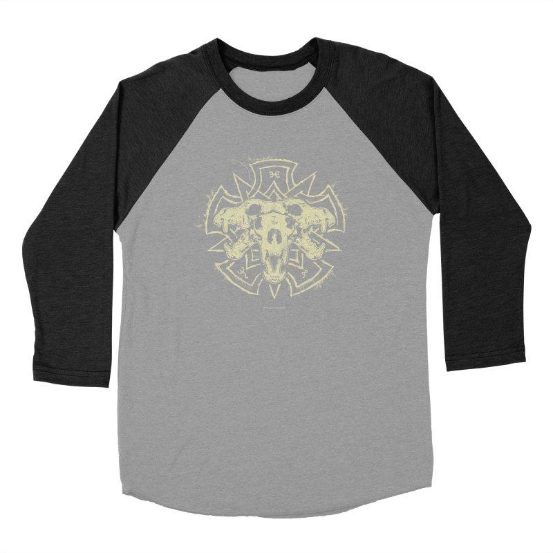 Hellhound of Hades Women's Baseball Triblend Longsleeve T-Shirt by Skulls Society