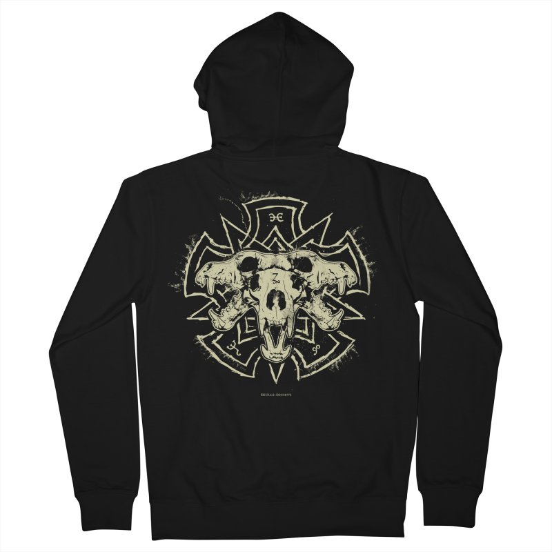 Hellhound of Hades Women's Zip-Up Hoody by Skulls Society