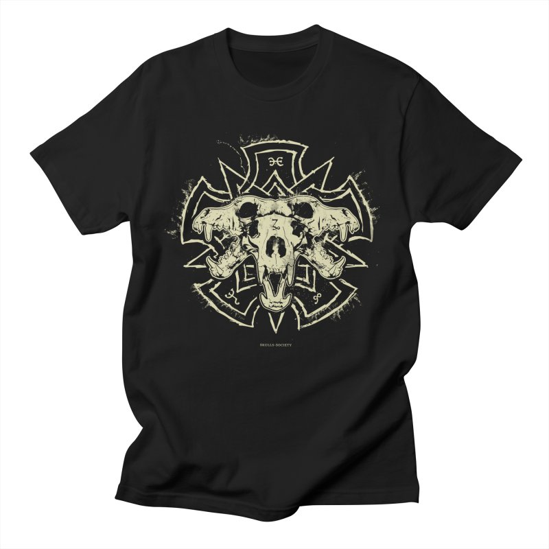 Hellhound of Hades Men's T-Shirt by Skulls Society