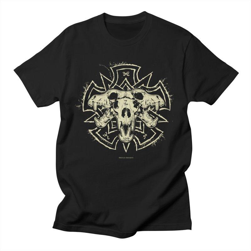 Hellhound of Hades Women's Regular Unisex T-Shirt by Skulls Society