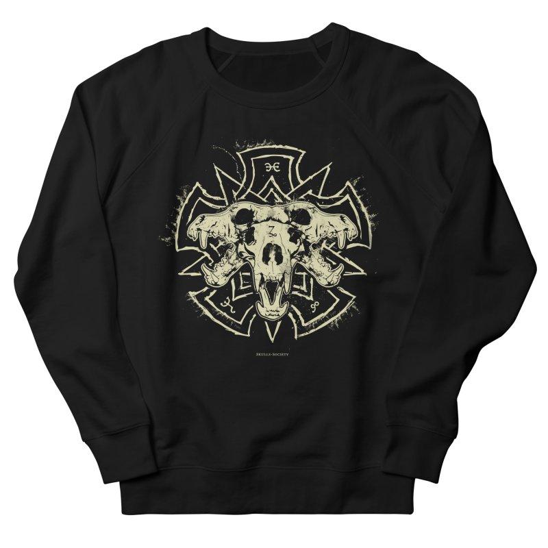 Hellhound of Hades Women's French Terry Sweatshirt by Skulls Society
