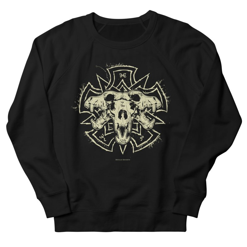 Hellhound of Hades Men's French Terry Sweatshirt by Skulls Society