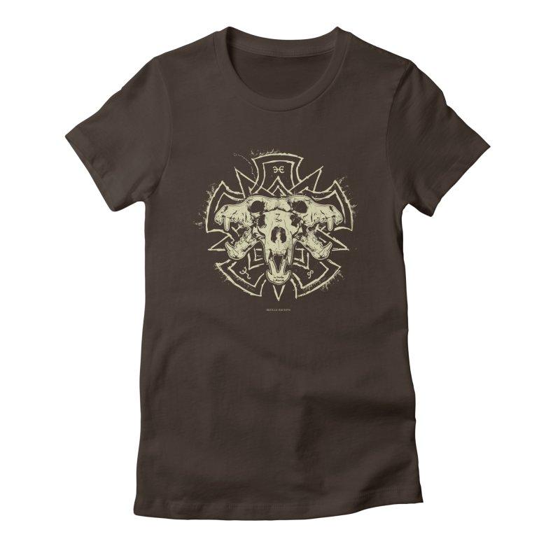 Hellhound of Hades Women's T-Shirt by Skulls Society