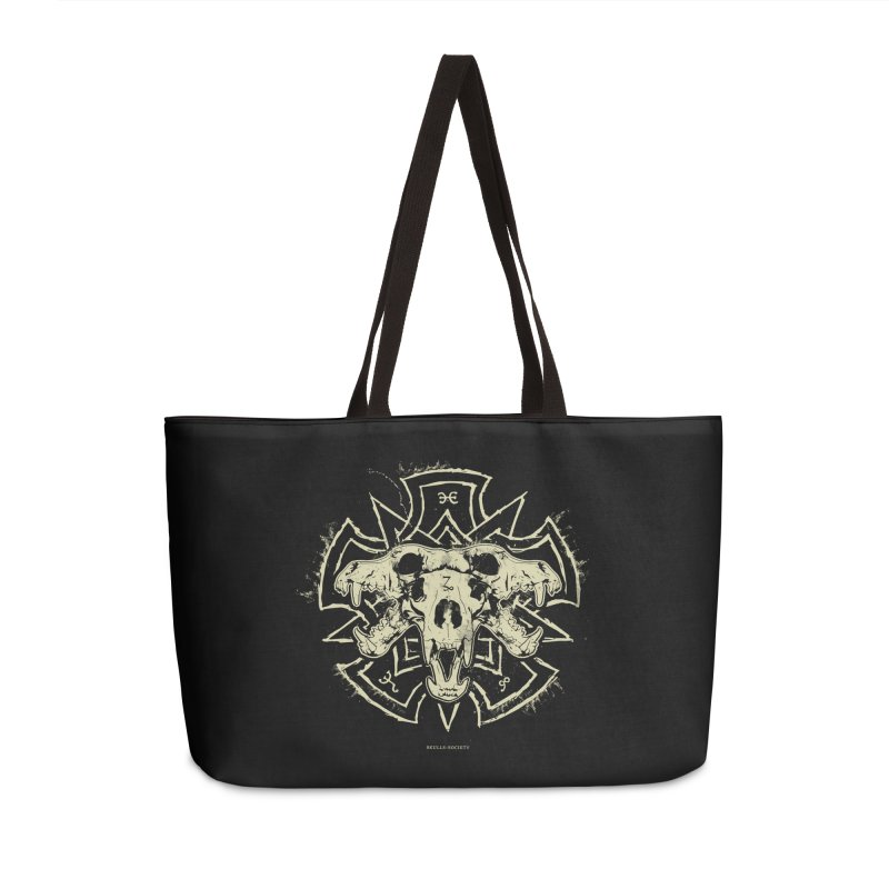 Hellhound of Hades Accessories Weekender Bag Bag by Skulls Society