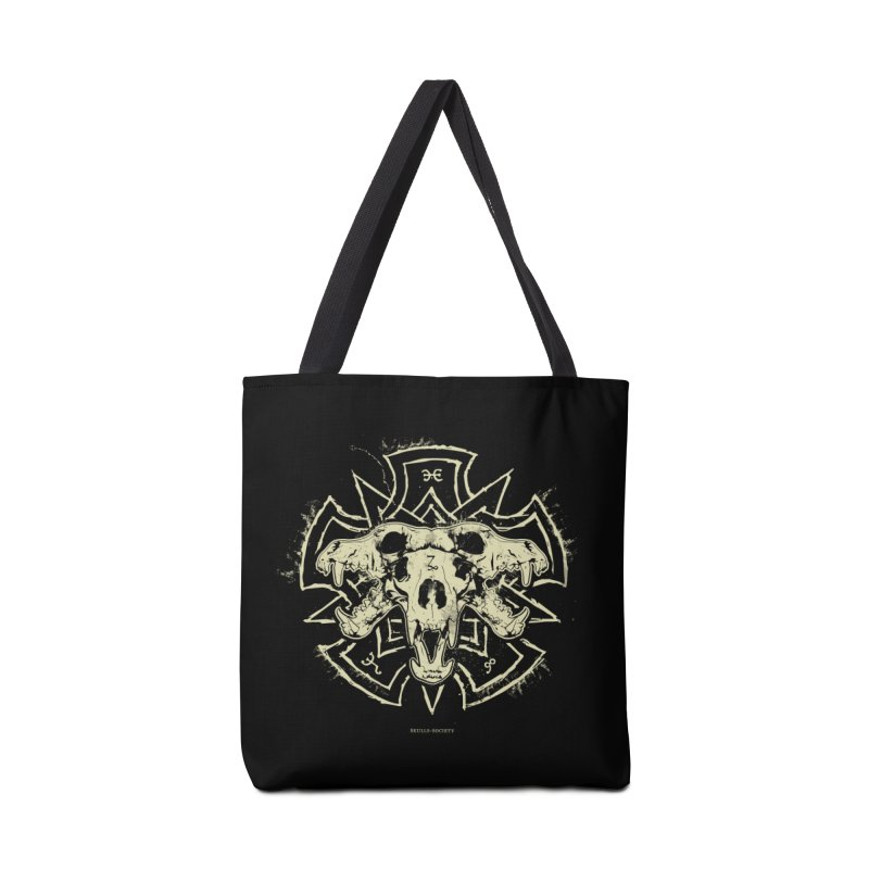 Hellhound of Hades Accessories Tote Bag Bag by Skulls Society