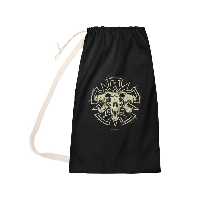 Hellhound of Hades Accessories Laundry Bag Bag by Skulls Society
