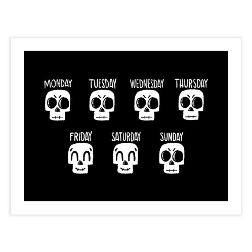 image for A Skull's Daily Mood