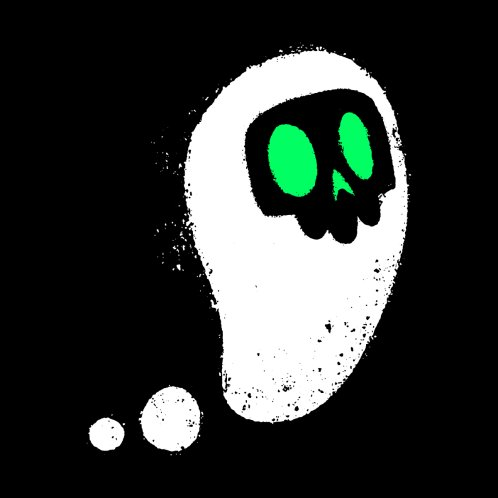 Design for Ghostly Skull