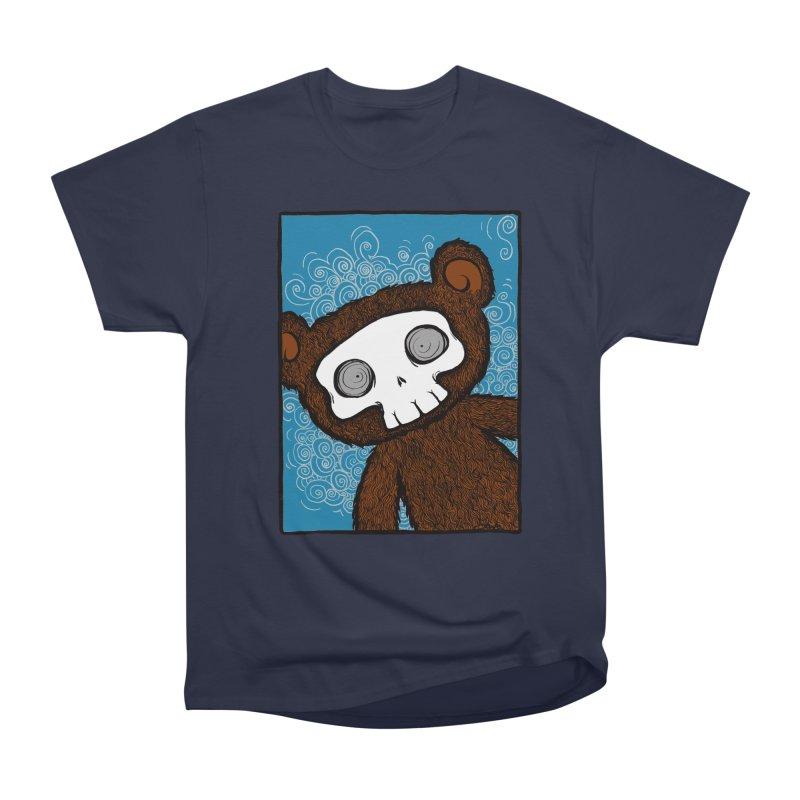 Hello There SkullyBear Women's Classic Unisex T-Shirt by SkullyFlower's Sweetly Creepy Tees