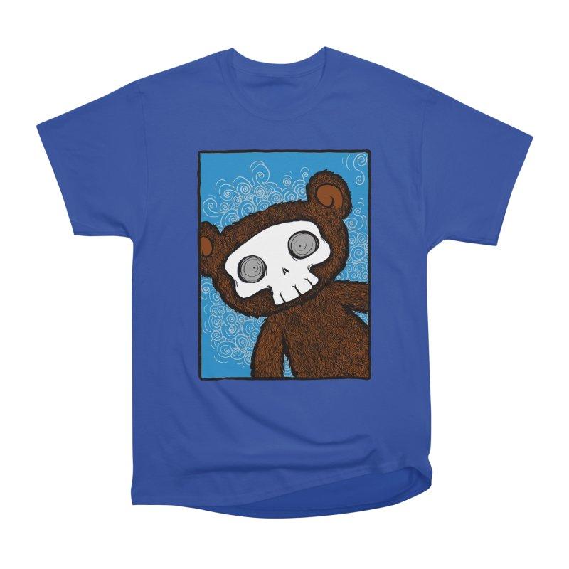 Hello There SkullyBear Men's Classic T-Shirt by SkullyFlower's Sweetly Creepy Tees
