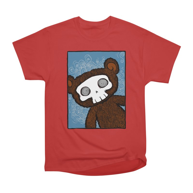 Hello There SkullyBear Women's Classic Unisex T-Shirt by SkullyFlower's Sweetly Creepy Tees