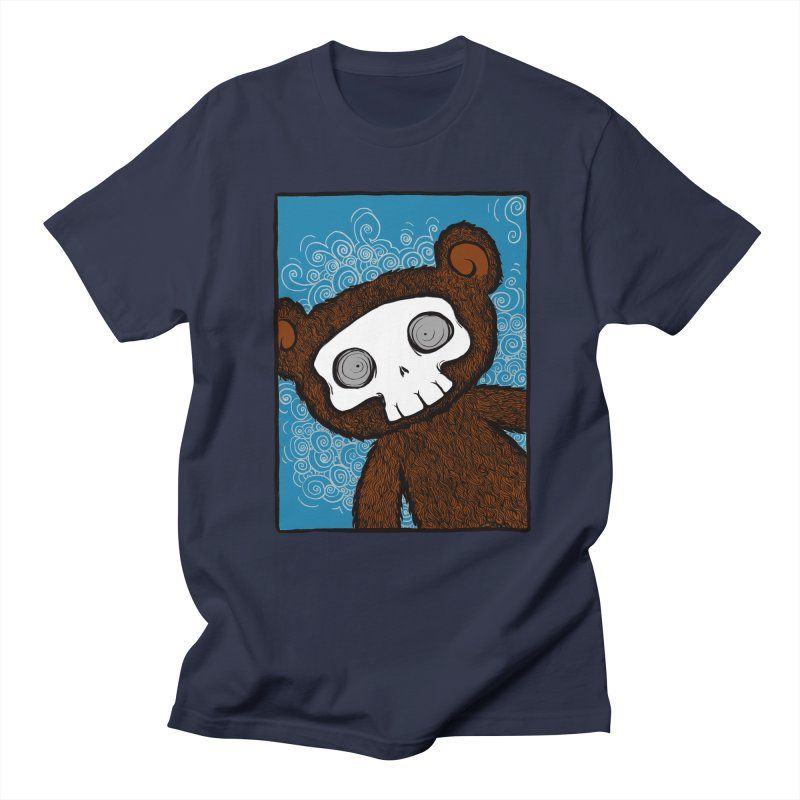 Hello There SkullyBear Men's T-shirt by SkullyFlower's Sweetly Creepy Tees