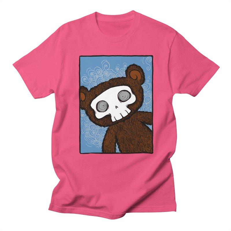 Hello There SkullyBear Women's Unisex T-Shirt by SkullyFlower's Sweetly Creepy Tees