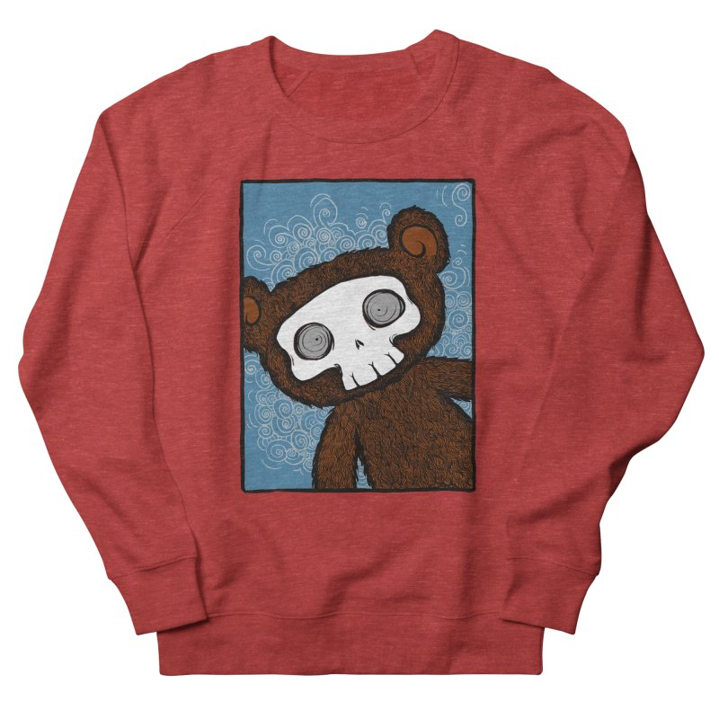 Hello There SkullyBear Women's Sweatshirt by SkullyFlower's Sweetly Creepy Tees